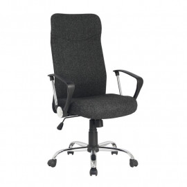 Chaise de bureau pivotante Tao Noire