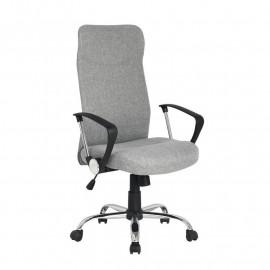 Chaise de bureau pivotante Lomi Grise