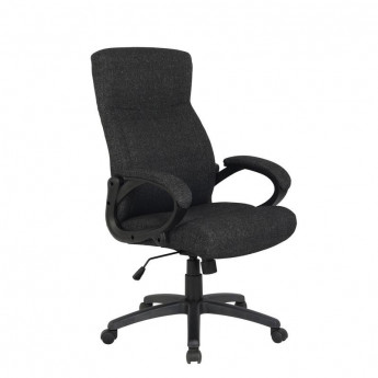 Chaise de bureau Paras Tissu Noire