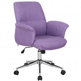 Chaise de bureau Jary Violette
