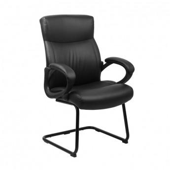 Chaise de réunion Noire