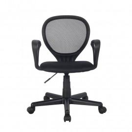 Chaise de bureau Zoe Noire