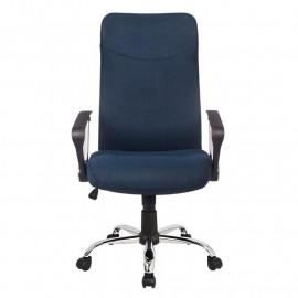 Chaise de bureau Tao pivotante Bleu foncé