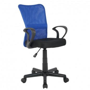 Chaise de bureau Mio Bleue/Noire
