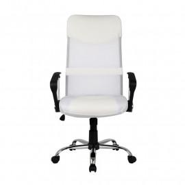 Chaise de bureau pivotante Tao Blanche