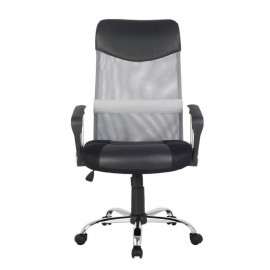 Chaise de bureau pivotante Tao Grise/Noire