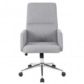 Chaise de bureau Madrid gris lézard