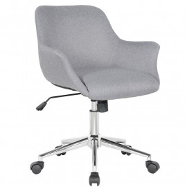 Chaise de bureau LOS ANGELES gris