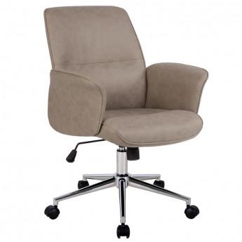 Chaise de bureau Paris marron