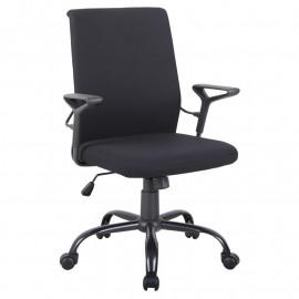 Chaise de bureau Enzo noir