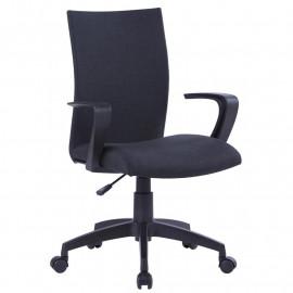 Chaise de bureau Rome noire