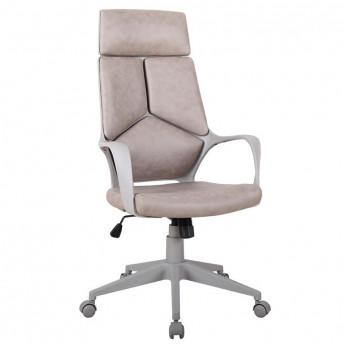 Chaise de bureau pivotant marron/gris