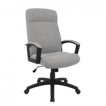 Chaise de bureau Sherman tissu gris