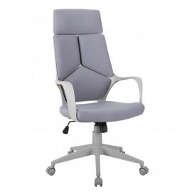 Chaise de Bureau Moderna Tissu Grise