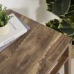 Bureau design industriel imitation bois Montana