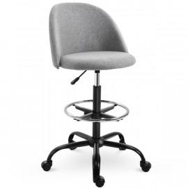 Chaise haute PERLE grise