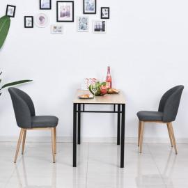 Chaise de salle à manger ECKINOXE grise