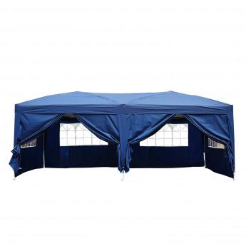 Tente de réception Glorietta bleue