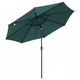 Parasol rond UMBRELLA inclinable diamètre 300cm vert