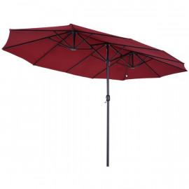 Grand parasol xxl KYOTO bordeaux