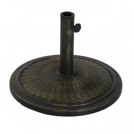 Pied de parasol LESTA noir bronze