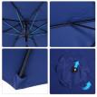 Parasol rond inclinable ATALNTIQUE Bleu