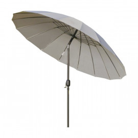 Parasol rond inclinable MUSHROOM Gris