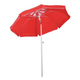 Parasol inclinable octogonal RED SLICE rouge