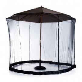 Moustiquaire Cylindrique NOBEE noire 3 x 2,3 m