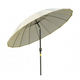 Parasol rond inclinable HASTINGS blanc