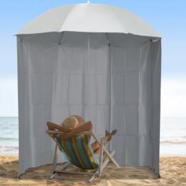 Parasol abri solaire MOON Crème