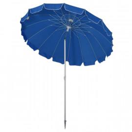 Parasol rond inclinable SUNY bleu