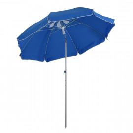 Parasol octogonal inclinable BLUESKY Bleu