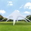 Tente de jardin XXL MARS blanche