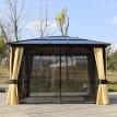 Pavillon de jardin MONTMIRAIL marron