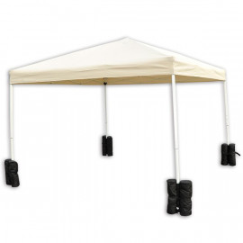 Sacs de lestage pour pieds de tente ou barnum BAGI noirs