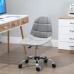 Chaise de bureau LUXURY gris