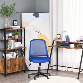 Chaise de bureau HANNA bleu