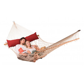 Hamac à Barres Kingsize avec coussin CALIFORNIA red pepper