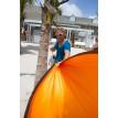 Hamac de voyage simple COLIBRI orange