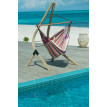 Chaise-Hamac Lounger DOMINGO plum