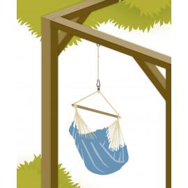 Solution pour l'accrochage des Chaises-Hamac Seguro