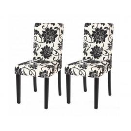 Chaise de salle à manger lot de 2 FLORA - MYCO00943