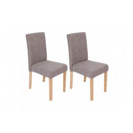 Chaise de salle à manger lot de 2 POKA - MYCO00946