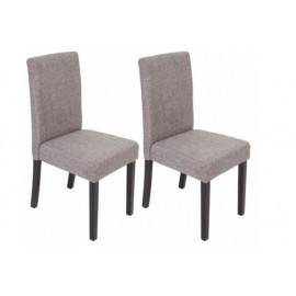 Chaise de salle à manger lot de 2 POKA - MYCO00947