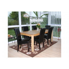 Chaise de salle à manger lot de 2 FLORENCE - MYCO00949