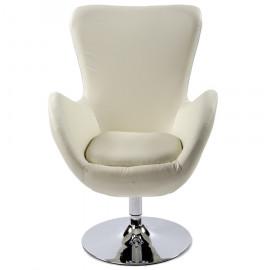 Fauteuil design PRINCE Blanc