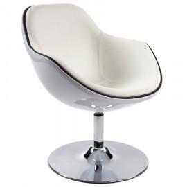 Fauteuil design DAYTONA Blanc