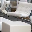 Fauteuil design BOUDOIR Blanc