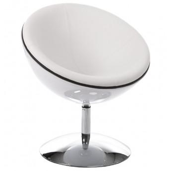 Fauteuil design SPHERE Blanc